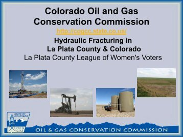 conserve oil and gas in our