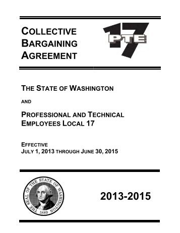 local 17 2013 2015 collective bargaining agreement