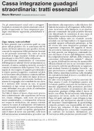 Cassa integrazione guadagni straordinaria: tratti ... - UIL Basilicata