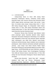 BAB I PENDAHULUAN - Bappeda Depok - Pemerintah Kota Depok