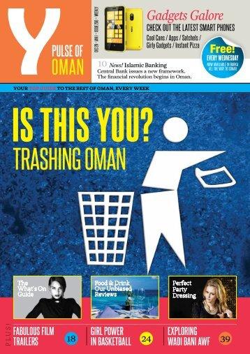 Y - Issue 250 - Dec 26 - Jan 1 2013 - Y-oman.com