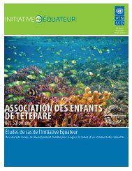 ASSOCIATION DES ENFANTS DE TETEPARE - Equator Initiative
