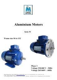 Aluminium Motors - LAMBERT MOTEURS