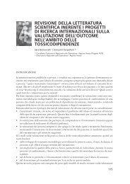 Revisione della letteratura scientifica inerente i progetti di ... - Dronet