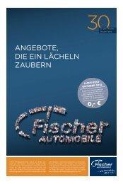 Jubiläumsangebot - Fischer Automobile