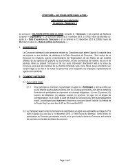 Le concours Â« NOLITOURS ENTRE DANS LA ZONE - Transat, Inc.
