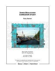 Jones Boulevard Corridor Study (2009) - Regional Transportation ...