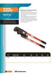 herramientas hidráulicasherramientas hidráulicas - Pegamo