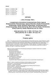 Dz. U. z 2004 r. Nr 8, poz. 67 - CBA