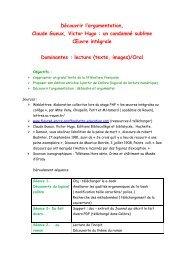 Plan de séquence - Sites disciplinaires de l'Académie de Bordeaux