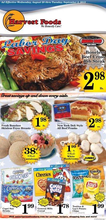 Harvest 2013-08-28 - URM Stores, Inc.