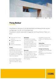 Ytong Balkar
