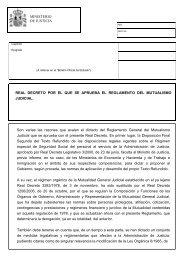 Real Decreto por el que se aprueba el Reglamento del Mutualismo ...