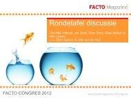 Rondetafel klantmanagement - Facto Magazine