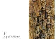 Le cubisme, l'espace-temps en architecture et la transparenc