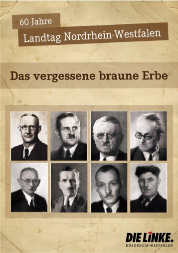 Das vergessene braune Erbe - DIE LINKE im Thüringer Landtag
