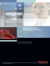 Thermo Scientific Jewett Lab Refrigerators and ... - Cardinal Health