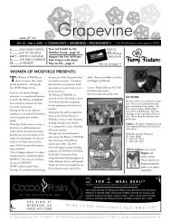 What's Happening Feb 18 - Mar 4, 2010 - The Grapevine