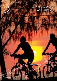 2010-2011 Annual Report - Darwin City Council - Northern Territory ...
