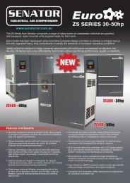 Senator 30-50hp - Compressor & air tool repair Australia