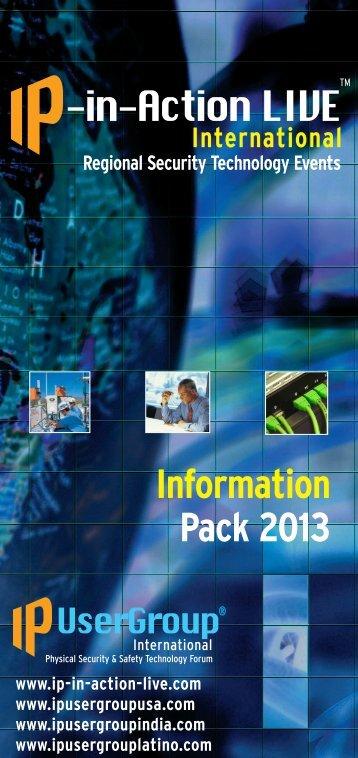 IPIA leaflet 2013 - IP UserGroup
