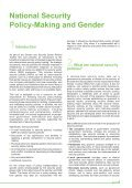 Tool 8-National Security Policy-Making and Gender ... - ISSAT - DCAF - Page 7
