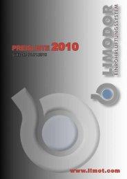 PREISLISTE 2010 - Limot