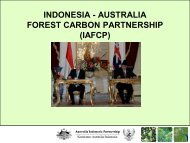indonesia - australia forest carbon partnership (iafcp)