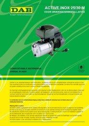 Dab active inox 25/30 M - Warmteservice