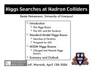 Higgs Searches at Hadron Colliders - Www Atlas Lbl