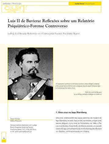 Luis II de Baviera: Reflexões sobre um Relatório ... - Saúde Mental
