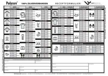 Bestelformulier PadyCare (pdf bestand) - Huidarts.com