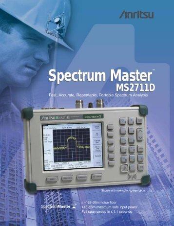 Spectrum Master - Aspen Electronics