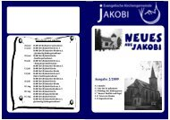 Ausgabe 2/2009 - Evangelische Kirchengemeinde Jakobi zu Rheine