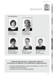 Sprachen (PDF, 956 KB) - Volkshochschule Dresden