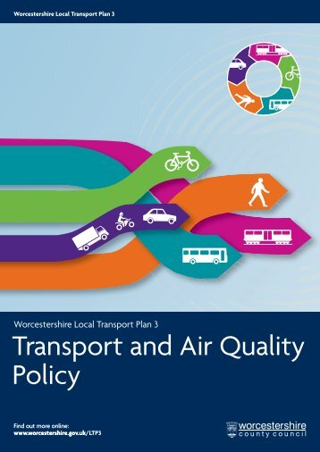 Transport and Air Quality Policy - Worcestershire County Council