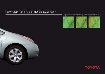 TOWARD THE ULTIMATE ECO-CAR