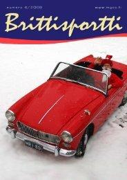 Brittisportti 42008 - MG Car Club Finland Ry