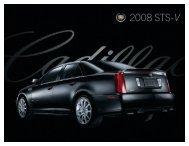 2008 STS-V - Cadillac