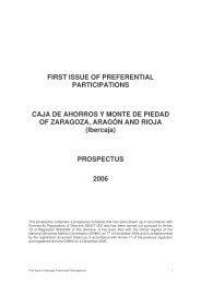 Ibercaja Tier 1 - Prospectus Oct06