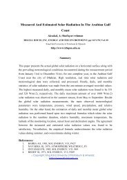 Measured And Estimated Solar Radiation In The ... - K.f.u.p.m. ISI