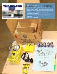 July 2010 - Nebraska Emergency Management Agency