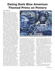 Dating Dark Blue American Themed Prints on Pottery - Transferware ...