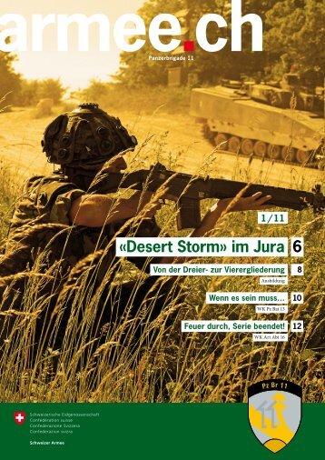 «Desert Storm» im Jura 6