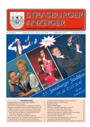 20. Jahrgang Strasburg (Um.), den 24. Juni 2011 ... - Schibri-Verlag
