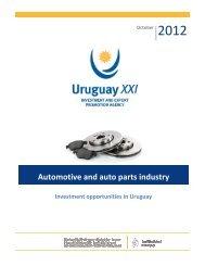Automotive and Auto Parts Industry – Oct. 2012 - Uruguay XXI