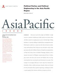 Political Parties and Political Engineering in the Asia ... - ScholarSpace