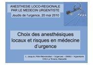 Dr L. Jacquin - SMUR BMPM