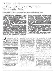 Acute respiratory distress syndrome 40 years later - RT Journal On ...