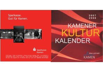 2007 2008 - Stadt Kamen